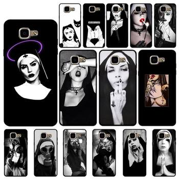Babaite Sister Nun Luxury Unique Phone Cover for Samsung A6 A8 Plus A7 A9 A20 A20S A30 A30S A40 A50 A70 image