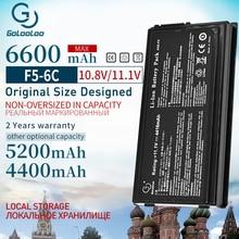 بطارية كمبيوتر محمول بسعة 4400 مللي أمبير في الساعة مزودة بـ 6 خلايا لأجهزة Asus A32 F5 F5 F5GL F5C F5M F5N F5RA F5RI F5SL F5Sr F5VI F5VL X50RL X50SL X50V X59