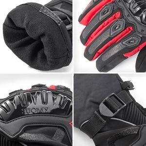 Image 5 - Winter Warme Motorrad Handschuhe Wasserdicht Touchscreen Schutz Guantes Moto Motocross Handschuhe für Motorrad Motocicletas