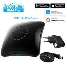 BroadLink RM4 Pro 2020 Universal Smart Remote Controller IR RF Transmitter Compatible Alexa Google Home Smart Home Automation