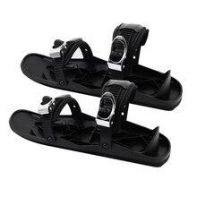 Outdoor Ski Skates Snow Shoes Snowboard Skiboard Snowblades Winter Mini Snowfeet  Outdoor Exercise Sport Decoration