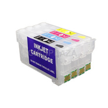Ink-Cartridge T405-405xl Epson Refillable CISSPLAZA WF-7830 WF-3820 Compatible with One-Time-Chip