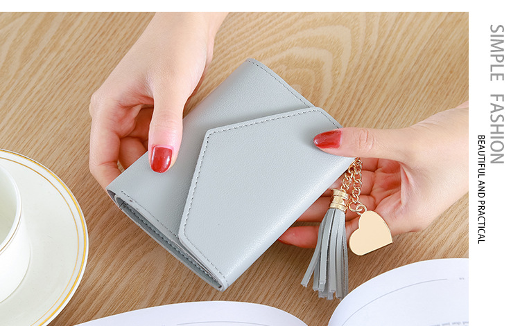 H09c03df0f89b4a63a201a31fd0fa350by - Wallet for Women Hasp Envelope Portwel Damski
