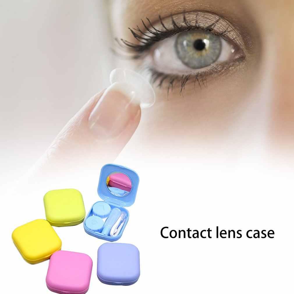 פלסטיק חומר מעוצבות להפליא אופנה עדין נייד הנמכר ביותר Invisible משקפיים מקרה אקראי צבע