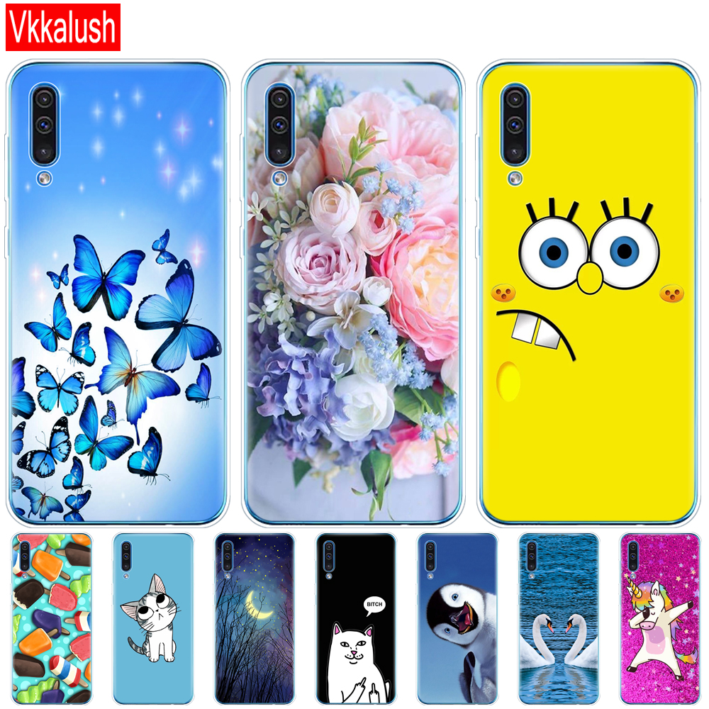 For Samsung Galaxy A30S Case Silicon Transparent Back Cover Phone Case For Samsung A30 A307 A307F SM-A307F Soft Case 6.4 image