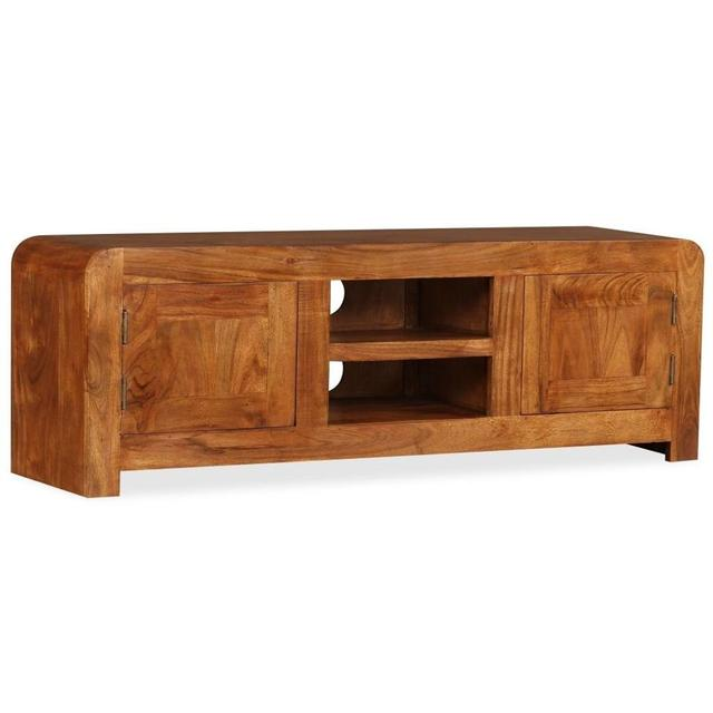 Solid Wood TV Cabinet  1