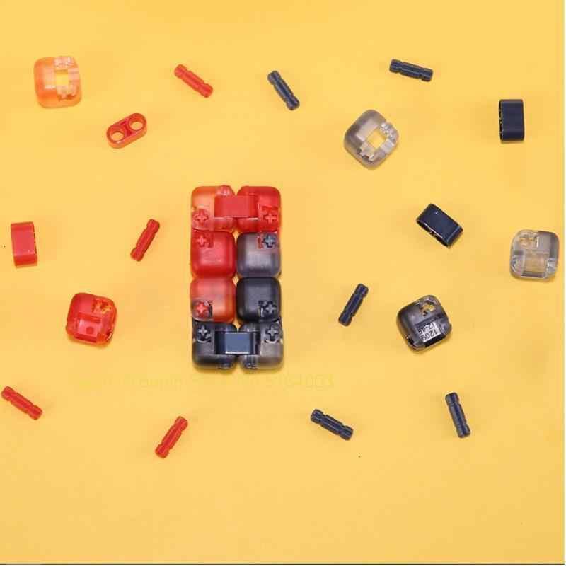 Berwarna-warni Asli Xiaomi Spinner Jari Batu Bata Mainan Intelijen Smart Jari Mainan Portable untuk Xiomi Smart Home Hadiah untuk Anak