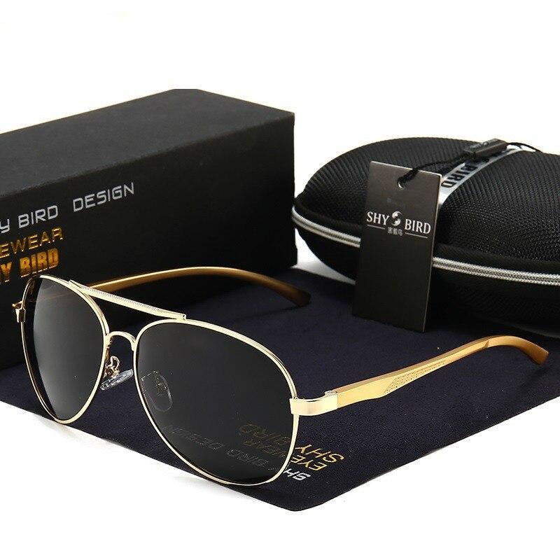 Купить очки ночного видения hd мужские винтажные алюминиевые поляризационные