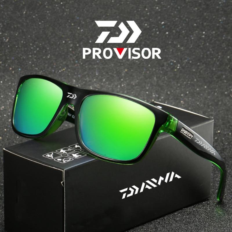 Очки Daiwa для рыбалки, спортивные солнцезащитные очки для рыбалки на открытом воздухе, мужские очки, солнцезащитные очки для велоспорта, скал...