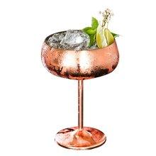 Роскошные 304 нержавеющая сталь коктейльное стекло серебряная Роза коктейль сок напиток шампанское бокал для вечеринок барная посуда кухонные инструменты