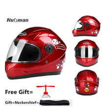 Children Motocross Ful Face Helmet Motorcycle Kids Helmets Motorbike Childs Moto Safety Headpiece