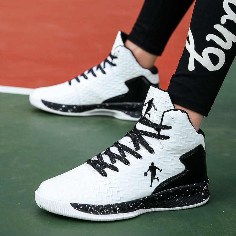 Couple High top Jordan Basketball Shoes