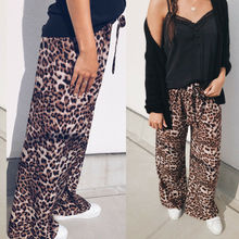high waist leopard print flare leggings 2018 autumn winter women fashion sexy bodycon trousers club pants
