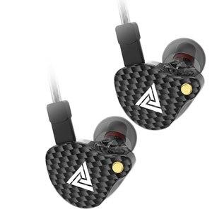 Image 4 - QKZ VK4 หูฟัง 3.5 มม.หูฟังกีฬาHIFIการตัดเสียงรบกวนในหูชุดหูฟังที่ถอดออกได้สายหูฟัง