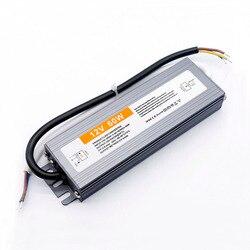 Водонепроницаемый светодиодный источник питания, постоянный ток 12 В, светодиодный драйвер 5 Вт, 10 Вт, 15 Вт, 20 Вт, 24 Вт, 30 Вт, 36 Вт, 50 Вт, 60 Вт, 80 Вт, ...