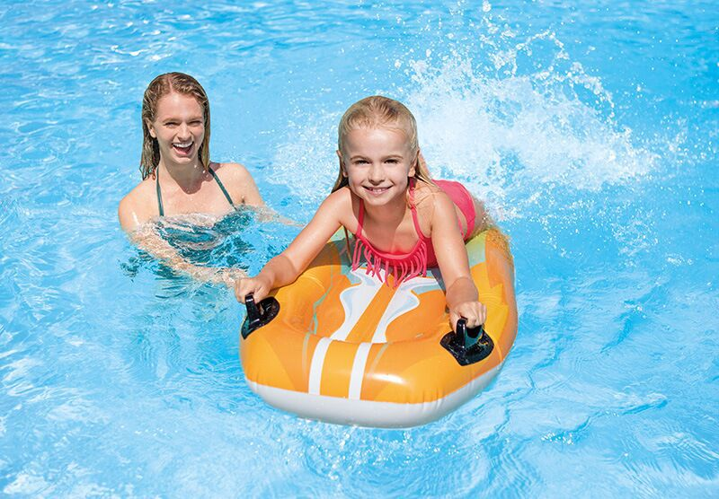 Rider Float Surfboard Inflatable Float Children's Water Toys Swim Paddle Board