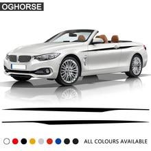 M Performance – autocollants à rayures latérales pour porte, pour BMW série 4 F32 F33 420i 428i 435i, accessoires de style