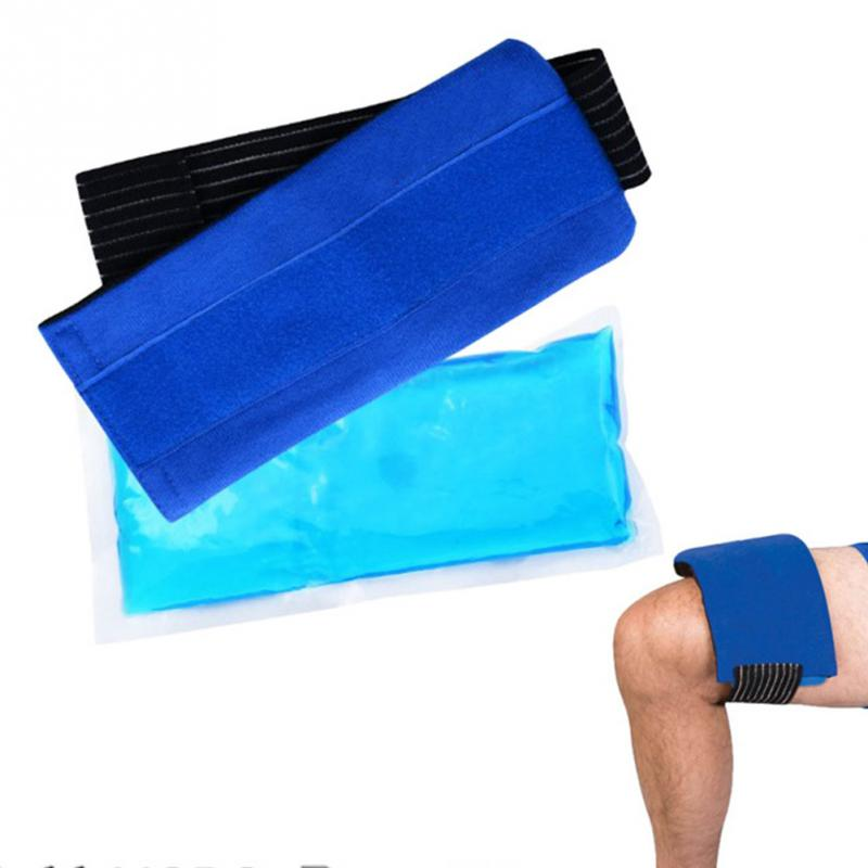 Reusable Ice Pack Lightweight Elastic Body Pain Relief Knee Wrist Gel Wrap Hot And Cold Therapy Shoulder Portable With Strap