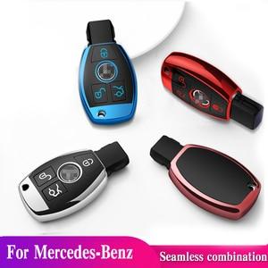 Image 3 - Quàng Nam chất lượng PC + TPU chìa khóa bao da Chìa Khóa Vỏ bảo vệ giá đỡ cho Xe Mercedes Benz MỘT B R G lớp GLK GLA E200 E200L W176