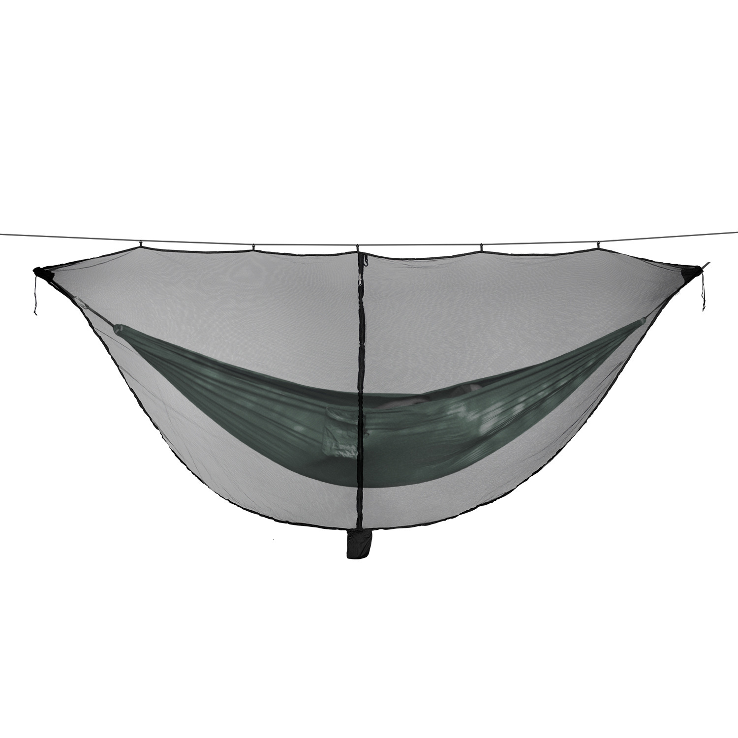 Separation Type Hammock Mosquito Net Fund Outdoor Easy Setup Travel Portable Coupe Separating Defence Mosquito Net