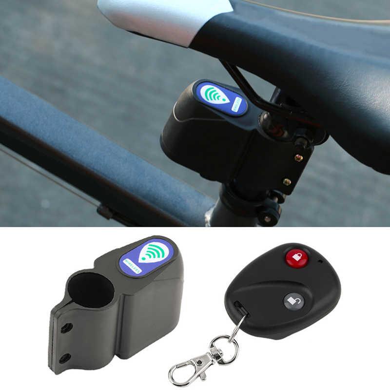 Bicycle Bike Wireless Alarm Lock Anti-theft Security System+Remote Control Kit
