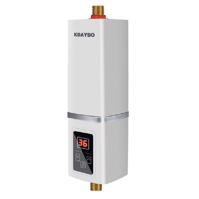 5500W electric Water Heater Instantaneous Water Heater Tap Instant Heating shower thermostat Maximum of 55 degrees Celsius image