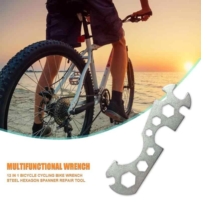 Hot Sale Mini Sepeda Datar Hexagon Kunci Hex Spanner Pemeliharaan Sepeda Perbaikan Tangan Alat Membuka Kunci Inggris
