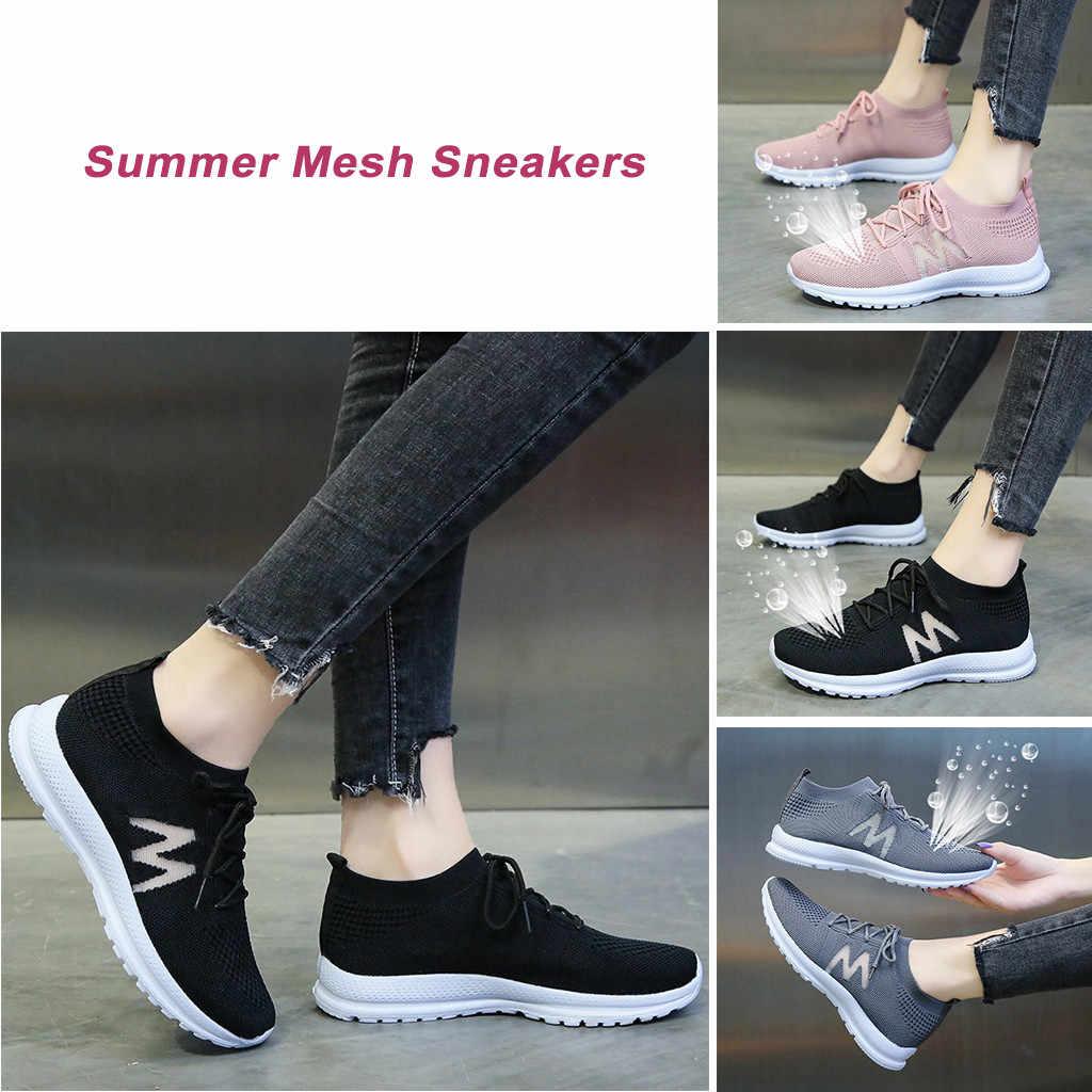 Ladies Round Toe Plaid Slip On Flat Shoes Outdoor Walking Gym Low Top Sneakers