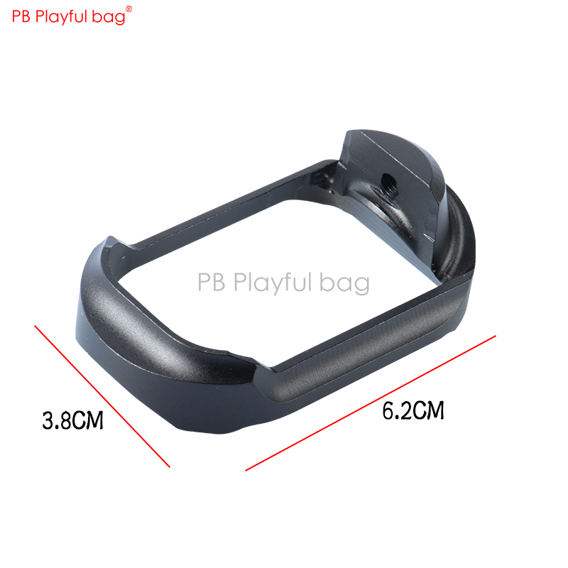 Playful Bag Outdoor CS P1 Magazine Base CNC Upgrade Material Base Lossless Direct Insertion Water Bullet Toy Refitting Part ID41