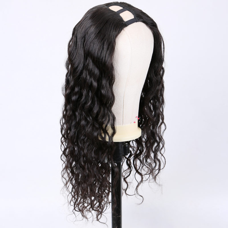 Brazilian Body Wave Wig U Part Wig Human Hair Wigs Pre Plucked For Black Women 250 Density Remy Wig 26 Inch Long Hair Wig