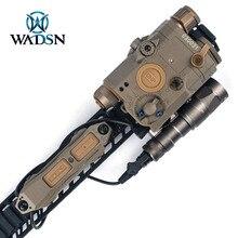 WADSN Taktische Remote Dual Funktion Schwanz Druck Schalter Taste Für PEQ15 16 DBAL A2 Laser Airsoft Armas M300 M600 Waffe Licht