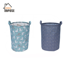 Snailhouse Folding Laundry Basket Storage Barrel Standing Toys Clothing Bucket Organizer Holder Pouch