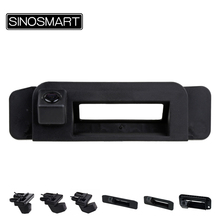 SINOSMART ручка багажника автомобиля заднего вида парковочная камера для Mercedes Benz ML GLC GLK CLS A/B/C/E/S класс от 2009 до