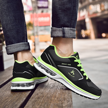 Running Shoes for Men Sneakers Breathable Outdoor Sport Shoes Air Cushion Men Leisure PU Upper Sneakers Male Sport Shoes