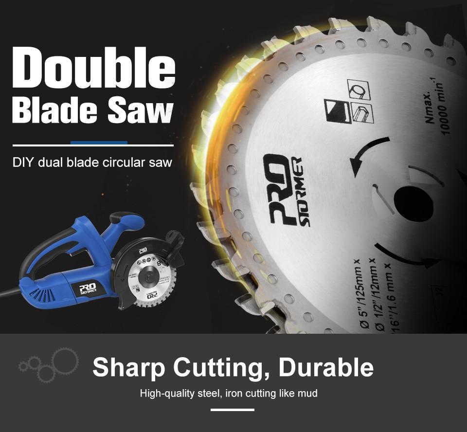 PROSTORMER Sharp Cutting Durable
