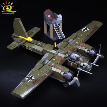 "Конструктор HUIQIBAO ""Бомбардировщик Ju-88"", 559 шт. 3"