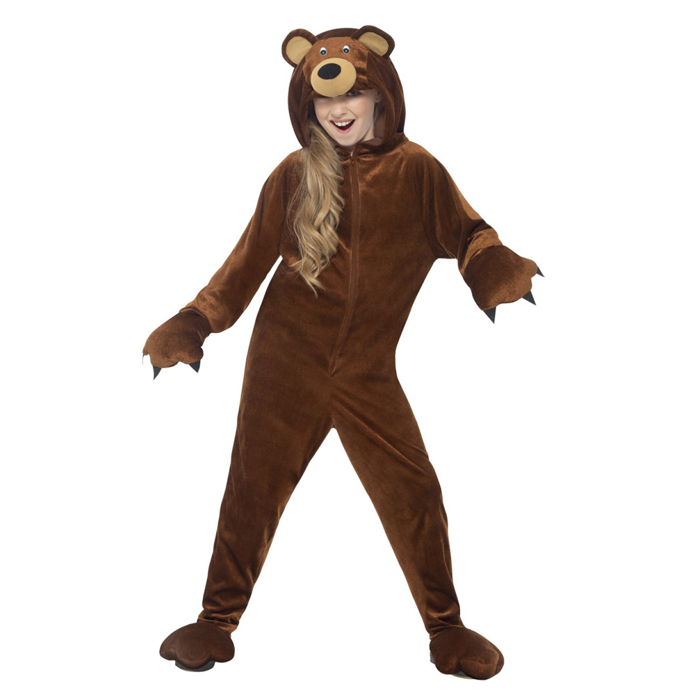 Snailify 2021 New Arrival Bear Costume Girls Halloween Costume For Kids Animal Boys Costume For Party Purim Carnival 2