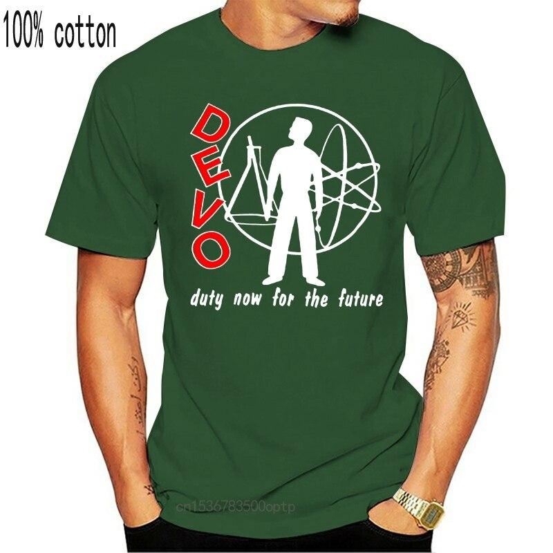 Топы с альбомами Devo Duty Now For The Future 1979, футболка, футболка, новинка, забавная футболка унисекс
