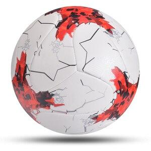 Image 1 - 2020 mais novo jogo bola de futebol tamanho padrão 5 bola de futebol material do plutônio alta qualidade esportes league formação bolas futbol