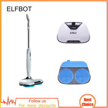 Elfbot T2 Electric Mop Vacuum Handheld Wireless  with Waxing,Mopping, Water Spay,Wet Floor Robot Cleaner,Floor Wiper Washer