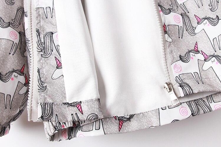 casacos 2-8 ano meninas topos roupas