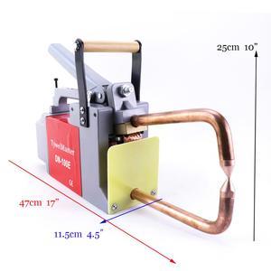 Image 2 - Maszyna do zgrzewania punktowego oporowego 230V/110V grubość spawania 1.5 + 1.5mm stalowa Plat CE przenośna zgrzewarka punktowa