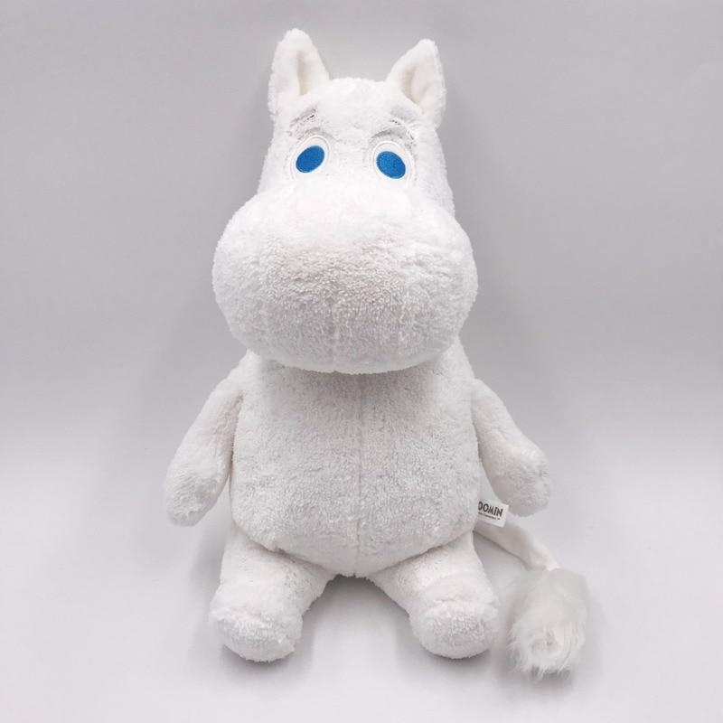 Genuine Authorization Moomin High Quality 30 Cm Sitting Plush Dolls Short Plush Toy For Birthday Christmas Gift For Boy Girls