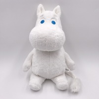 Genuine Authorization Moomin High Quality 30 Cm Sitting Plush Dolls Short Plush Toy for Birthday Christmas Gift for Boy Girls