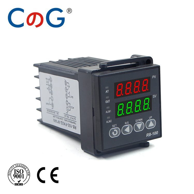 CG 48*48mm 600 800 Degree Input K J PT100 0-10V 4-20mA PID Output SSR Relay 110V-220V 24V 380V Thermostat Temperature Controller