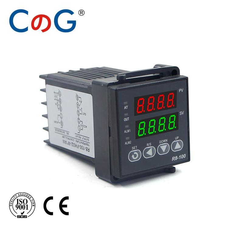CG 48*48mm 600 800 Degree Input K J PT100 0-10V 4-20mA PID Output SSR Relay 110V-220V 24V 380V Thermostat Temperature Controller