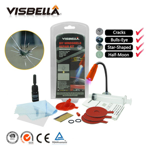 Image 2 - VISBELLA Cracked Glass Repair Kit Windshield Repair Liquid DIY Car Window Screen Repair Polish Windscreen Glass Renewal Tools