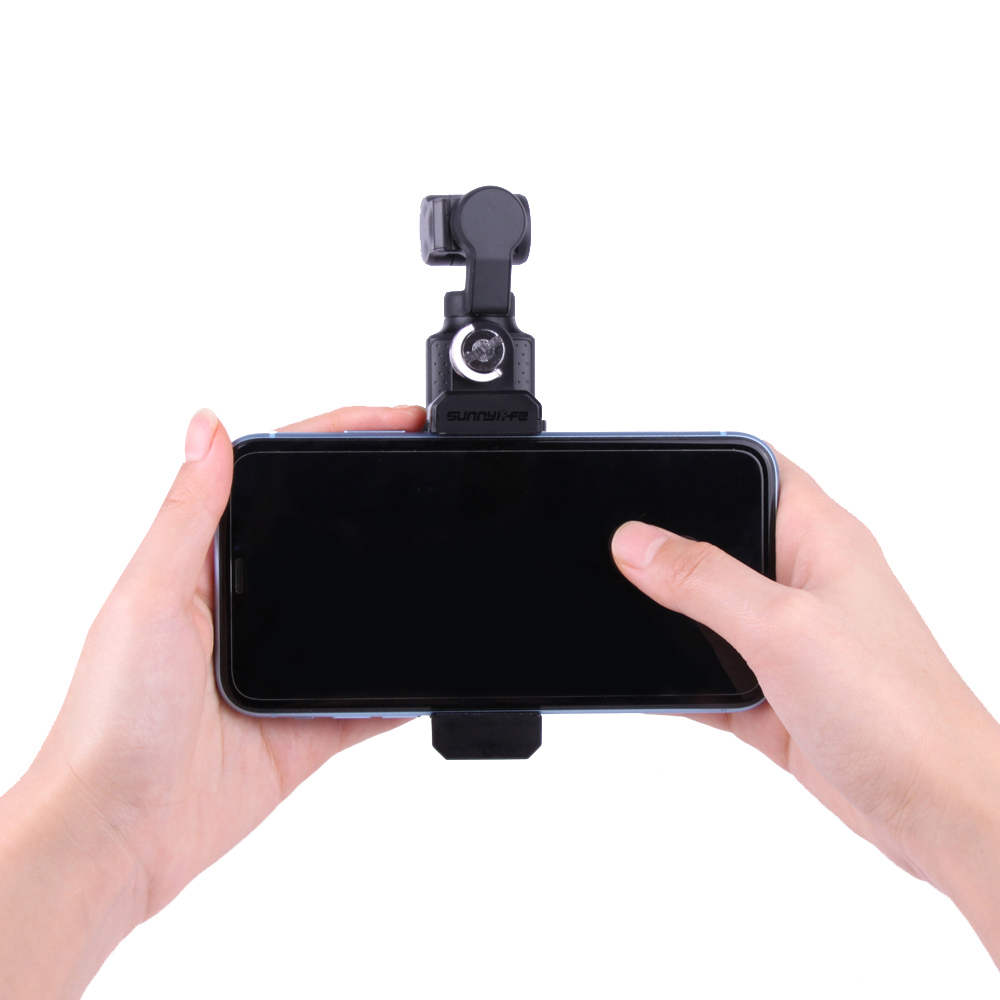 Smartphone Fixing Clamp 1/4'' Holder Mount Bracket clip clamp FIMI PALM accessory For fimi PALM Gimbal Drone accessories