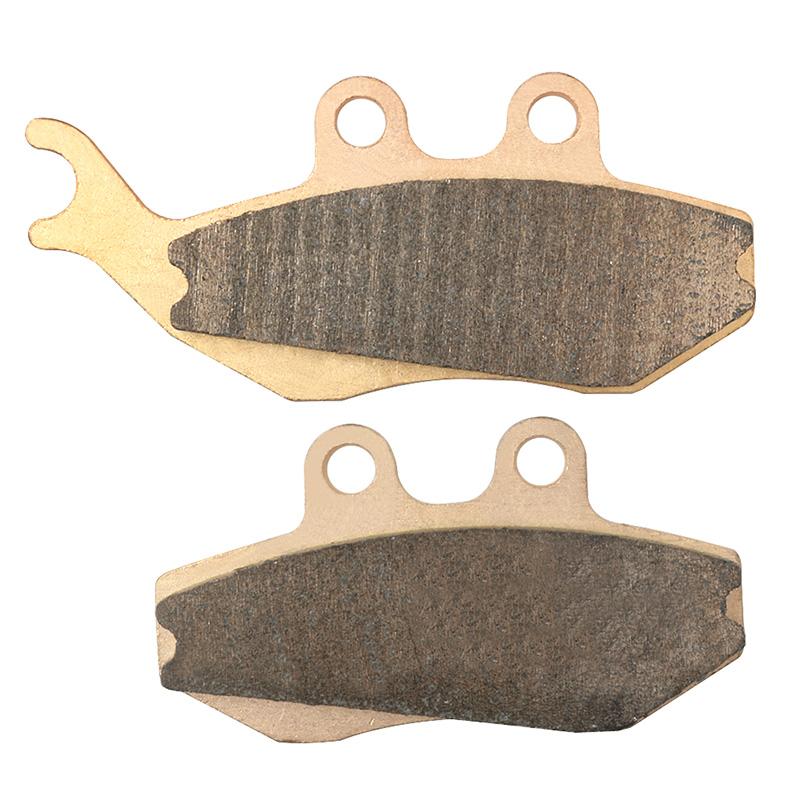 Motorcycle Copper Based Sintered Front Brake Pads For HONDA HM CRE50 CRM50 CREF125X CRM F 125 X Derapage For <font><b>YAMAHA</b></font> XT125X TZR50 image