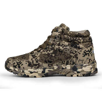 2019 Winter Men Boots Camouflage Warm Wool Cotton Army Combat Tactical Military Shoes Men\'s Ankle Outdoor Snow Boots Man